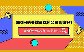谷歌seo网站排名优化公司哪家好?
