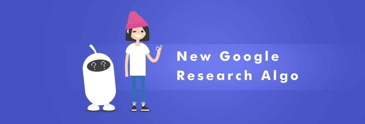 【资讯】Google发布新算法研究