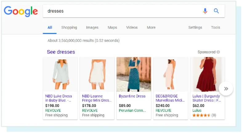谷歌搜索连衣裙